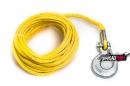 Трос для лебедки синтетический Basic 6мм х 15м, с крюком