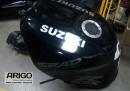 Бак на мотоцикл Suzuki gsxr 750 2002 с инжектора