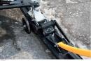 Система убирающихся колес Rouski для снегохода Arctic Cat