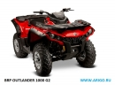 Расширители арок BRP CAN AM OUTLANDER G2