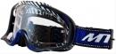 Очки для мотокросса MT MX-PRO III BLUE lens clear