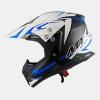 Шлем MT SYNCHRONY STEEL BLACK/WHITE/BLUE L