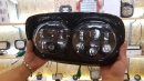 Светодиодные фары для мотоцикла Harley Davidson Road Glide