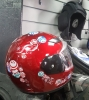 Детский шлем красный