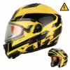 Шлем снегоходный модуляр