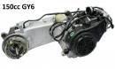 Двигатель скутер 4х такт. GY6-150