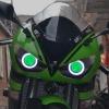 Светодиодные ангельски глазки HID kawasaki ninja ZX-6R 2005-2006