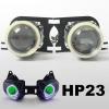 Светодиодные Ангельские глаза HID для kawasaki ZX-6R ZX6R 2007-2008 зеленый