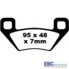 Тормозные колодки EBC FA395X
