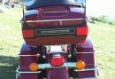 Хром гибкий молдинг на мотоцикл