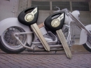 Болванка ключа Yamaha черная