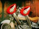Болванка ключа Yamaha красная