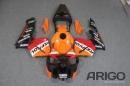 Комплект пластика для мотоцикла Honda CBR 600 RR 2003-2004 Repsol Оранжевый