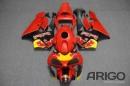 Комплект пластика для мотоцикла Honda CBR 600 RR 2003-2004 RedBull красный