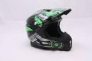 Кроссовый шлем MT зеленый