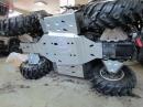 Установка защиты двигателя на квадроцикл